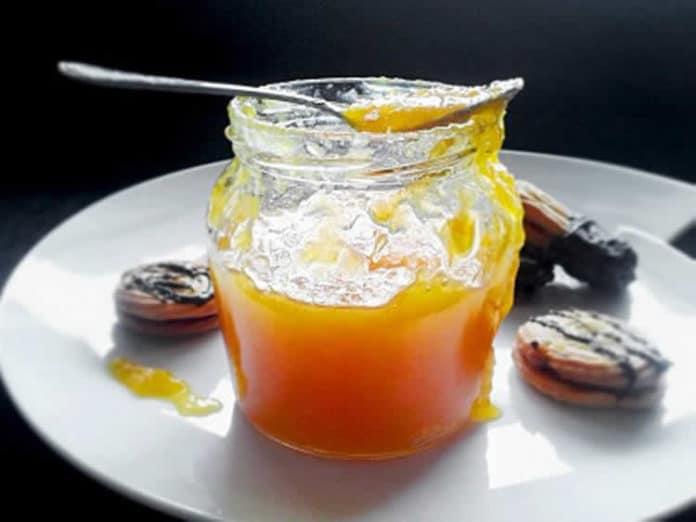 Confiture orange à la vanille au thermomix