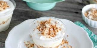 Crème dessert à la noix de coco au thermomix