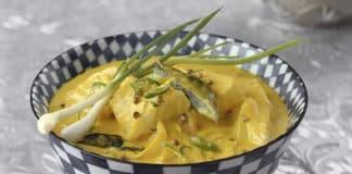 Filet de cabillaud sauce au curry au thermomix