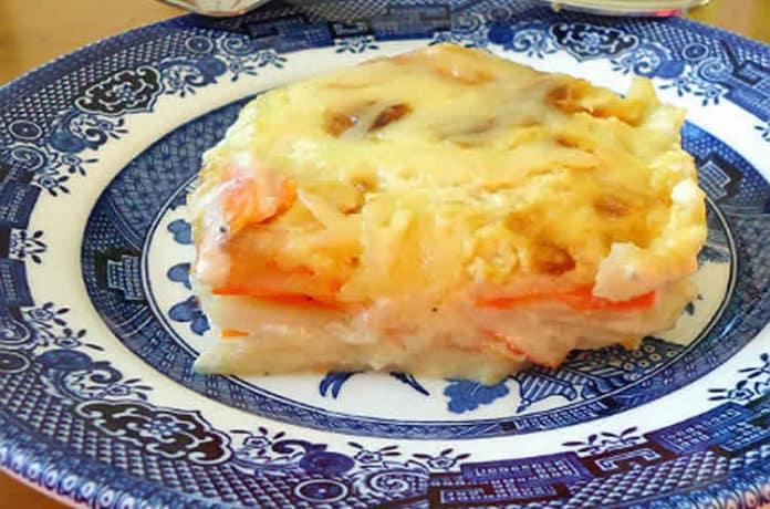Gratin de chou fleur carottes et Pommes de terre au cookeo