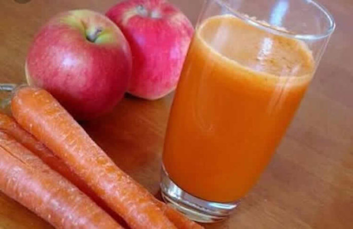 Jus detox carotte pomme au thermomix