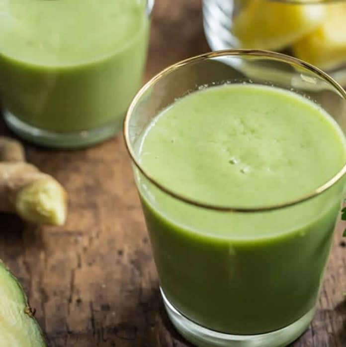 Le parfait smoothie vert au thermomix