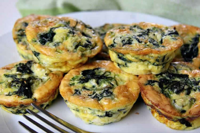 Mini quiche épinards et féta au thermomix