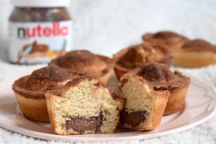 Muffins coeur de Nutella au thermomix