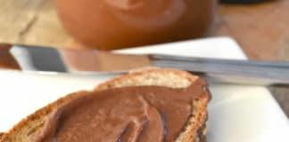 Nutella maison aux noisettes et chocolat au thermomix