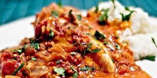 Poitrines de poulet aux champignons au cookeo