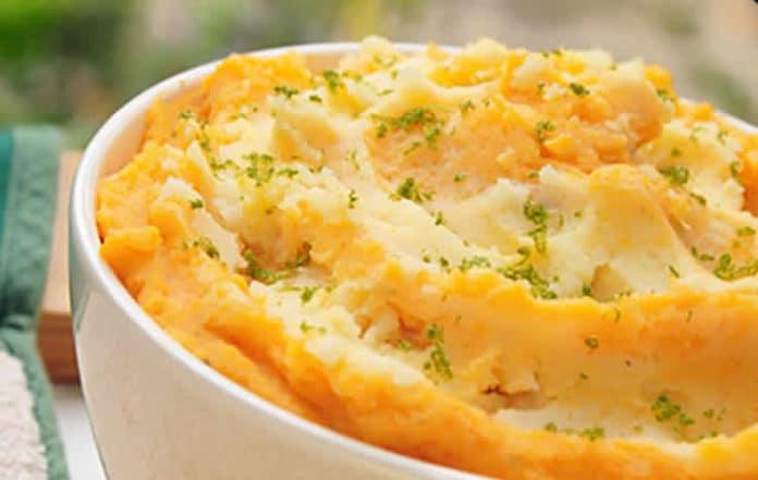 Purée pomme de terre et patate douce au thermomix