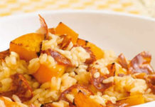 Risotto butternut et chorizo au cookeo