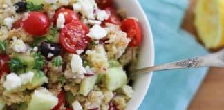 Salade quinoa grecque au thermomix
