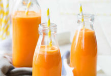 Smoothie orange carotte au thermomix