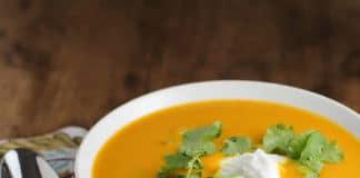 Soupe carottes et curry au thermomix