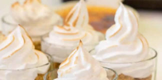 Verrine tarte citron au thermomix