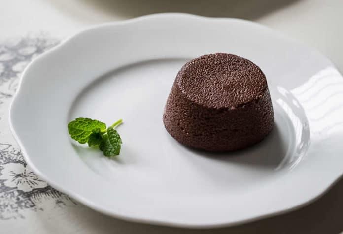 pudding semoule chocolat au thermomix