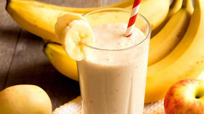 smoothie banane pomme au thermomix