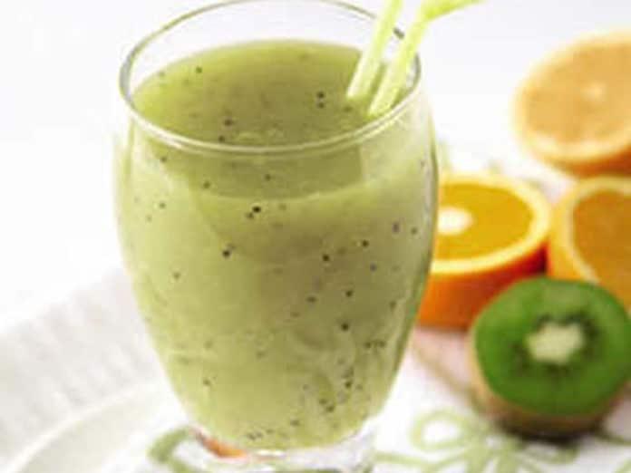 smoothie orange kiwi au thermomix