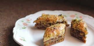 Baklava aux pistaches et noix au thermomix