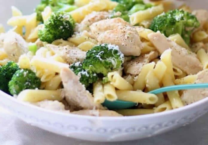 Blancs de poulet au brocolis au cookeo