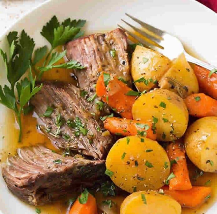 boeuf aux carottes et pommes de terre au cookeo