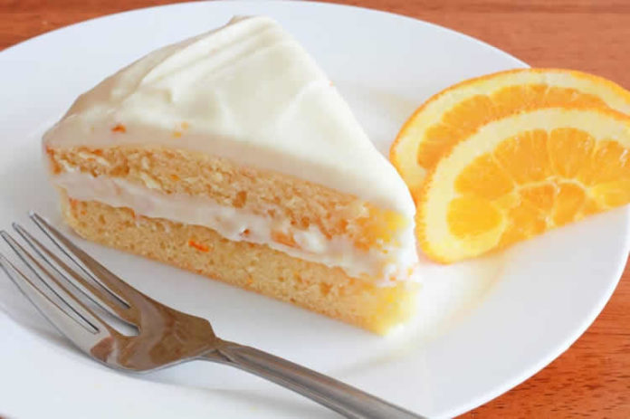 Cake à l'orange avec glaçage au thermomix