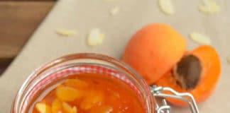 Confiture d'abricots aux amandes au thermomix