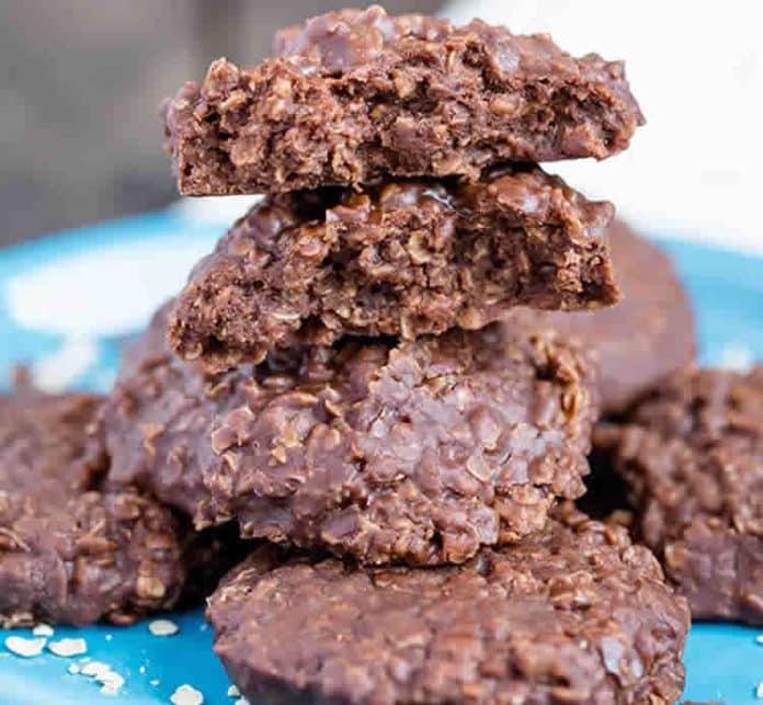 Cookies au chocolat sans cuisson