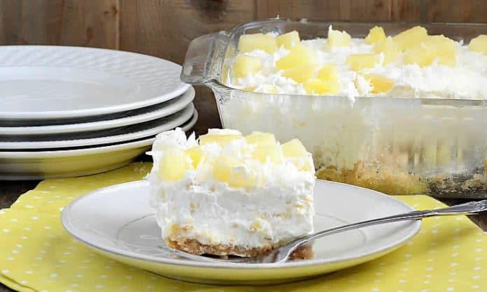 Dessert mascarpone spéculoos ananas au thermomix
