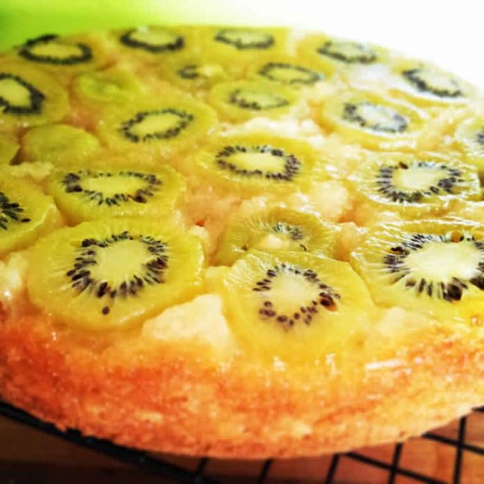 Gâteau au kiwi au thermomix
