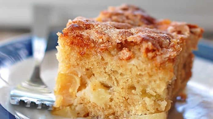 Gâteau aux pommes moelleux au thermomix