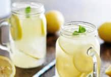 Jus de citron au miel au thermomix