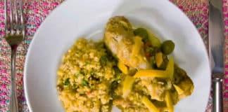 Poulet au citron et olives au thermomix