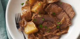 Rôti de boeuf pommes de terre au cookeo