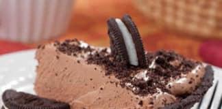 Tarte à la crème chocolat et oreo au thermomix