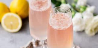 cocktail champagne citron au thermomix