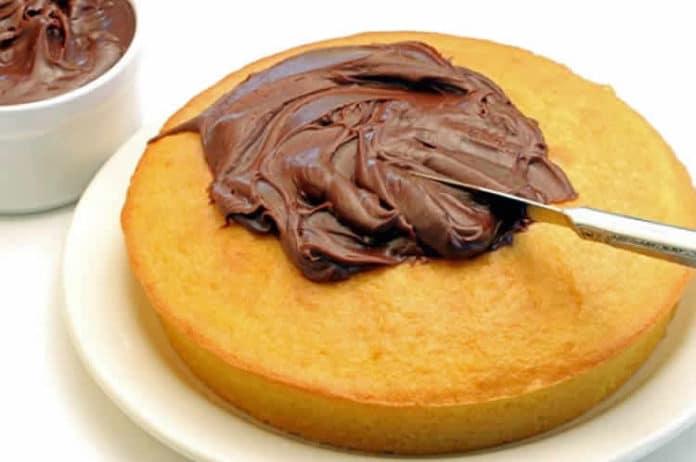 crème chocolat pour cake