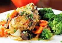 cuisses de dinde aux carottes et pruneaux au cookeo