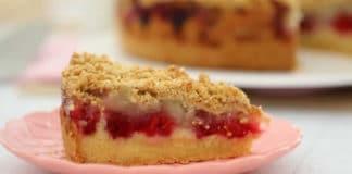 Cake pomme et framboises au thermomix