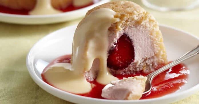 Charoltte aux fraises