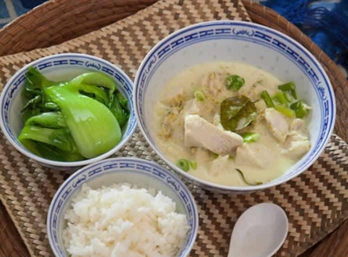 Filet de poisson au lait de coco au cookeo