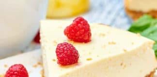 Gâteau au fromage à la crème et yaourt