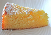 Gâteau à l'orange et amande au thermomix