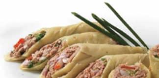 Recette crêpes au thon ww