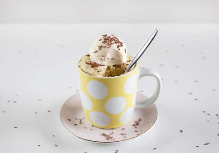 Recette mug cake ww