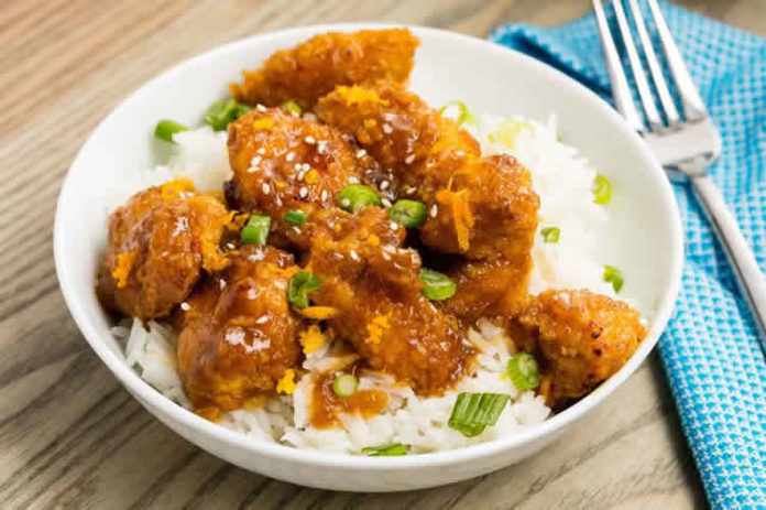 Recette poulet à l'orange ww