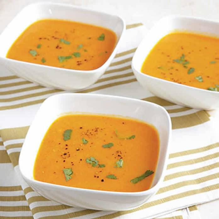 Recette soupe carotte et gingembre ww