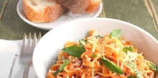 Recette spaghettis à la sauce tomate ww