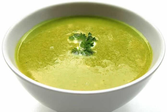 Soupe de haricots verts et pommes de terre au thermomix