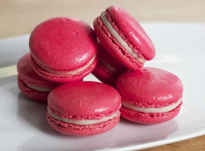 macarons rouges au thermomix