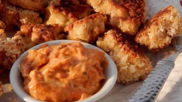 nuggets de dinde au fromage au thermomix