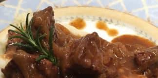 porc aux oignons caramélisés au thermomix