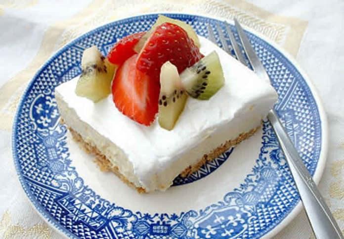 pudding glacé aux fruits